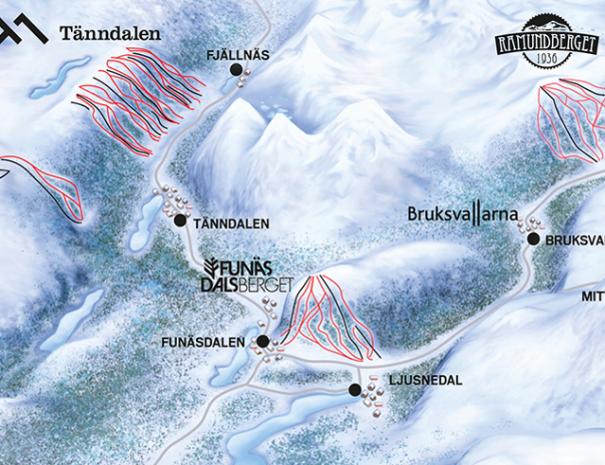 ski funnasfjallen
